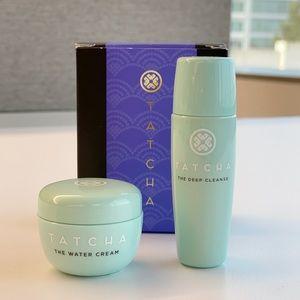Tatcha Water Cream & The Deep Cleanse Set